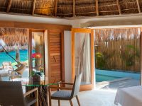 Oceanfront Accommodations with Private Plunge Pool and Balcony at Mahekal Beach Resort