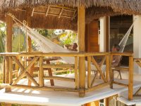 Hammock Relaxation on Private Decks at Mahekal Beach Resort