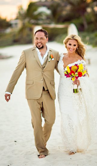 Jason Aldean Marries Brittany Kerr at Mahekal Beach Resort