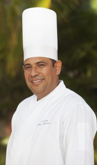 Executive Chef Crescenciano Nerey