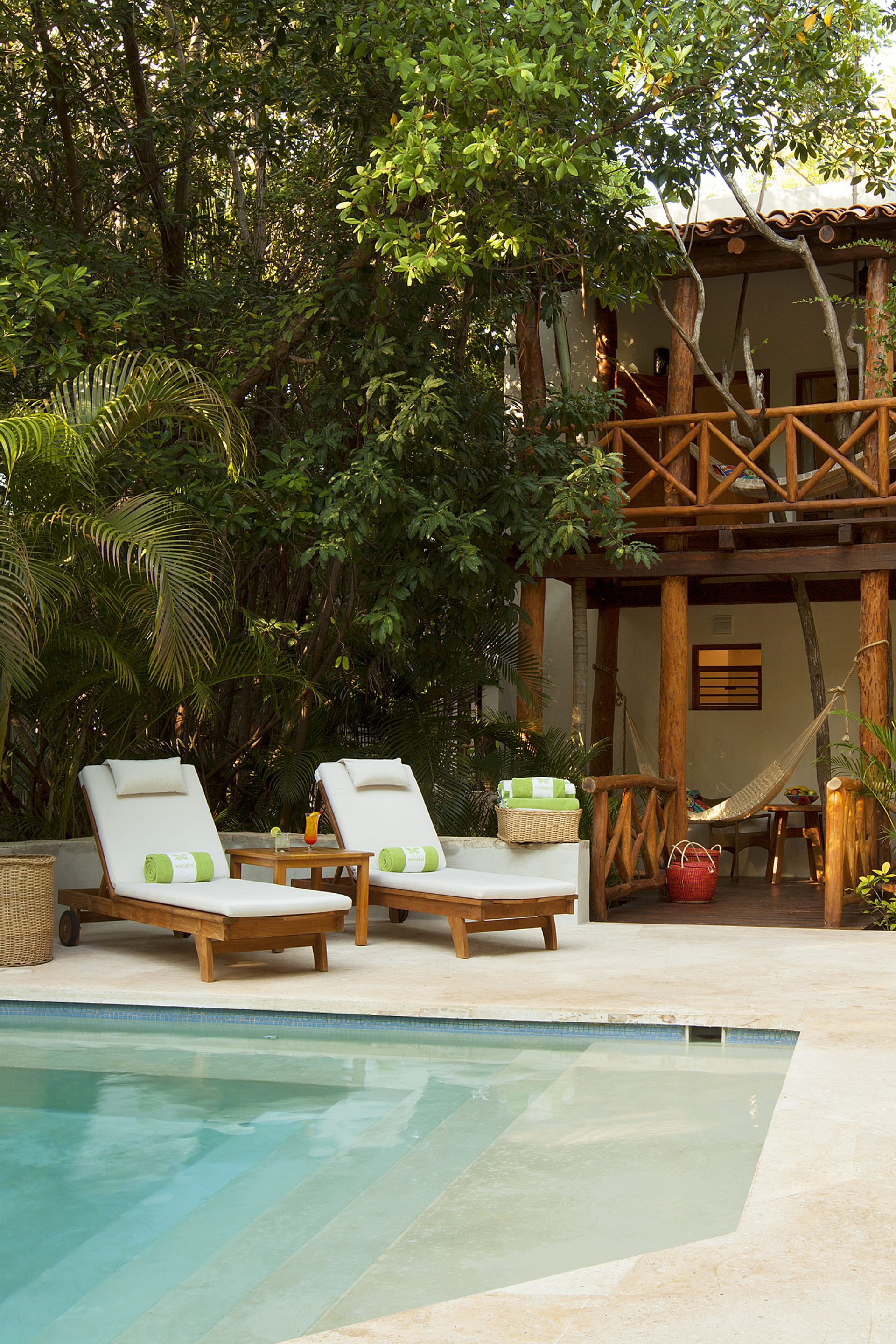 Treehouse Jungle accommodations in Playa del Carmen
