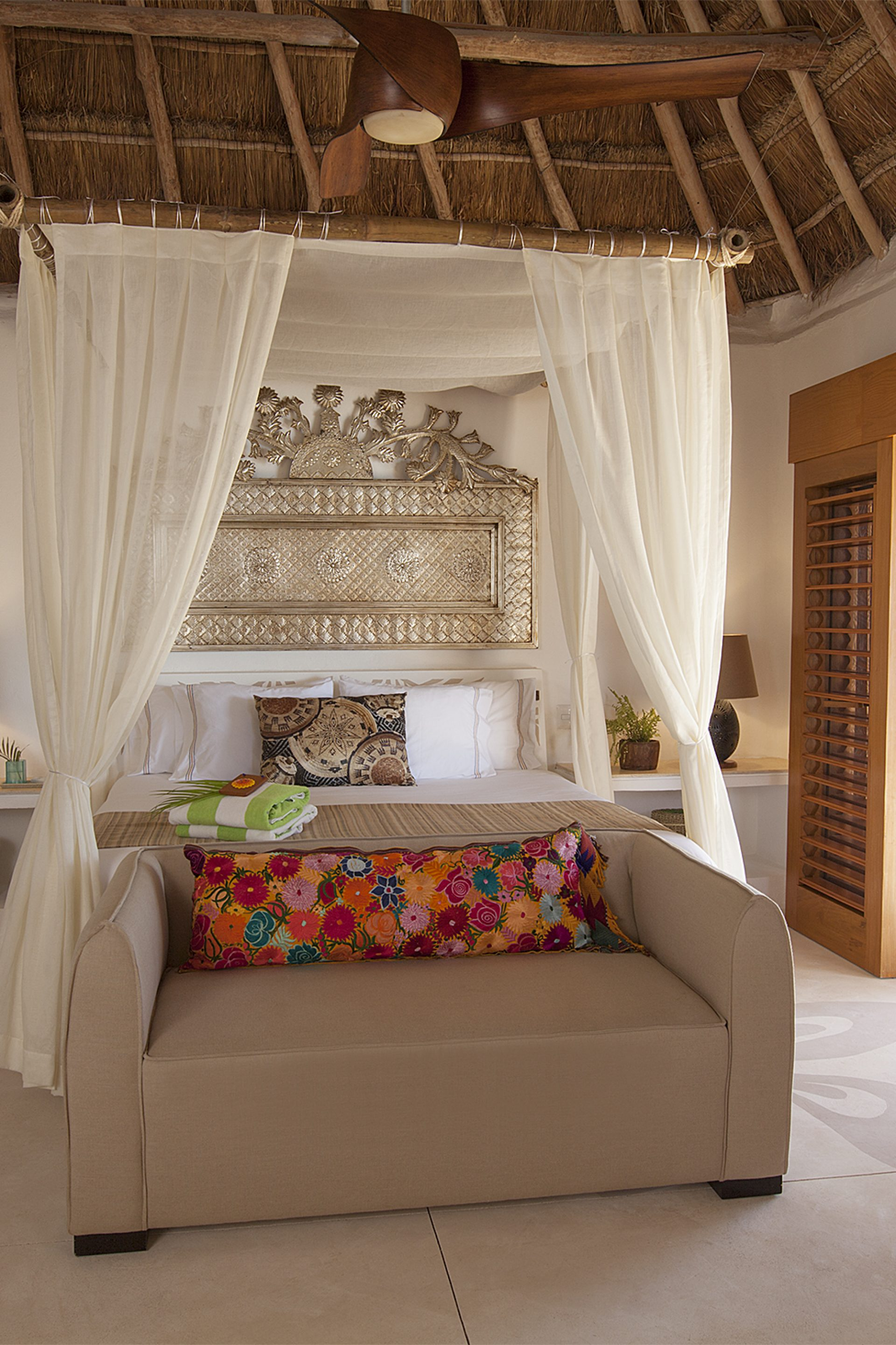 Luxury Ocean Front Palapa Penthouse at Mahekal Beach Resort