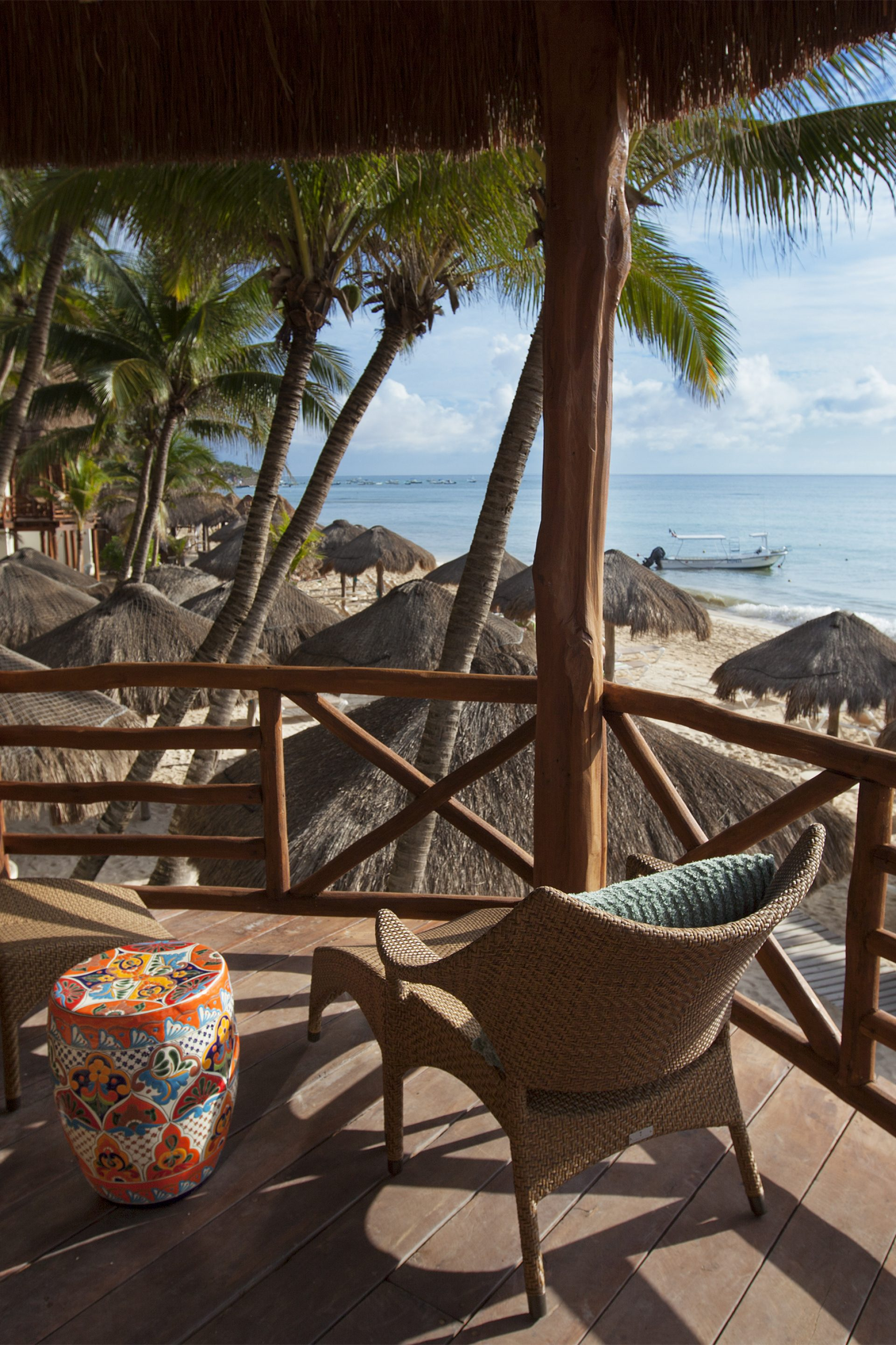 Stunning Ocean Views at Mahekal Beach Resort