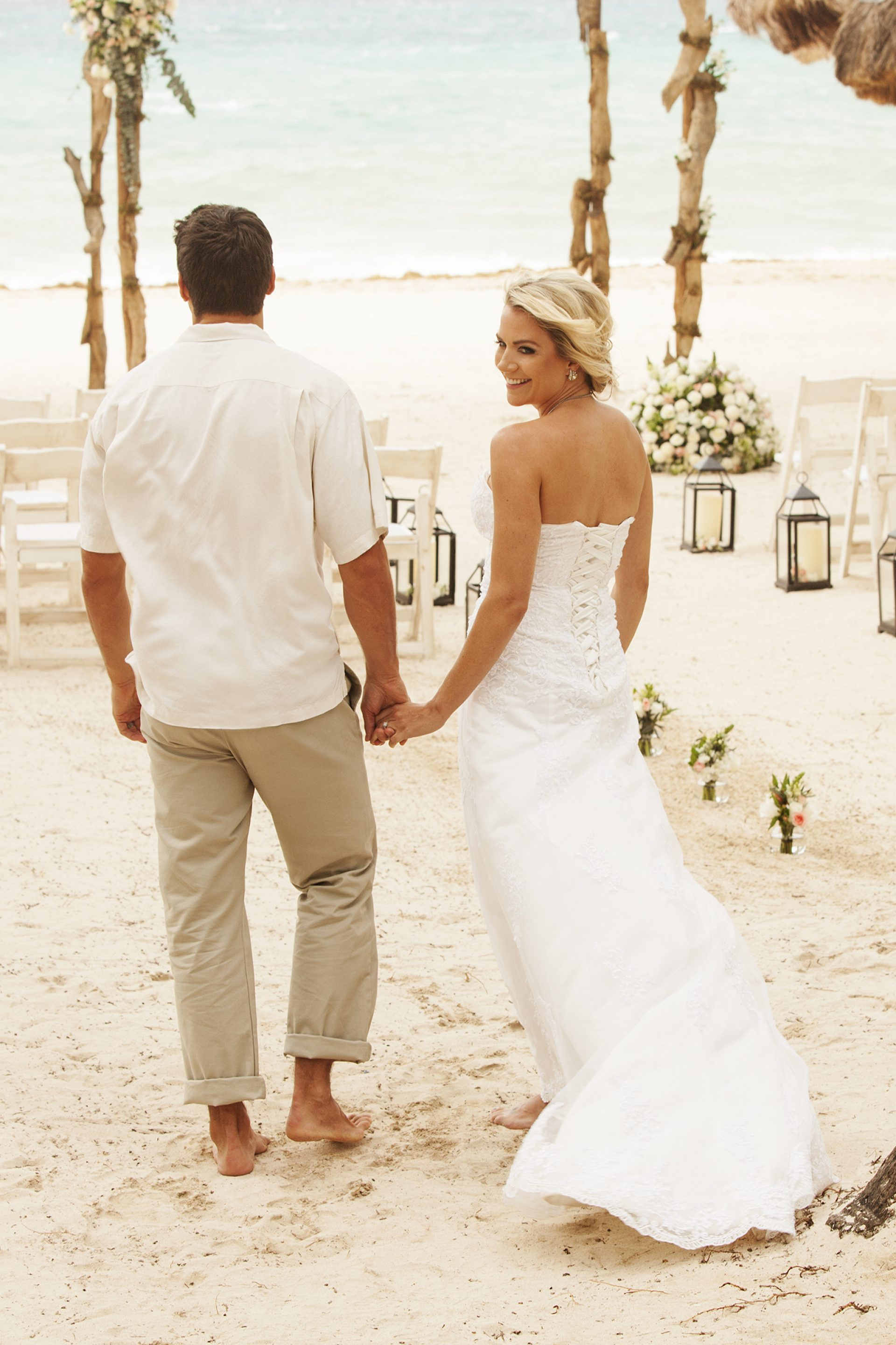 Beachfront Weddings in Playa del Carmen Mexico