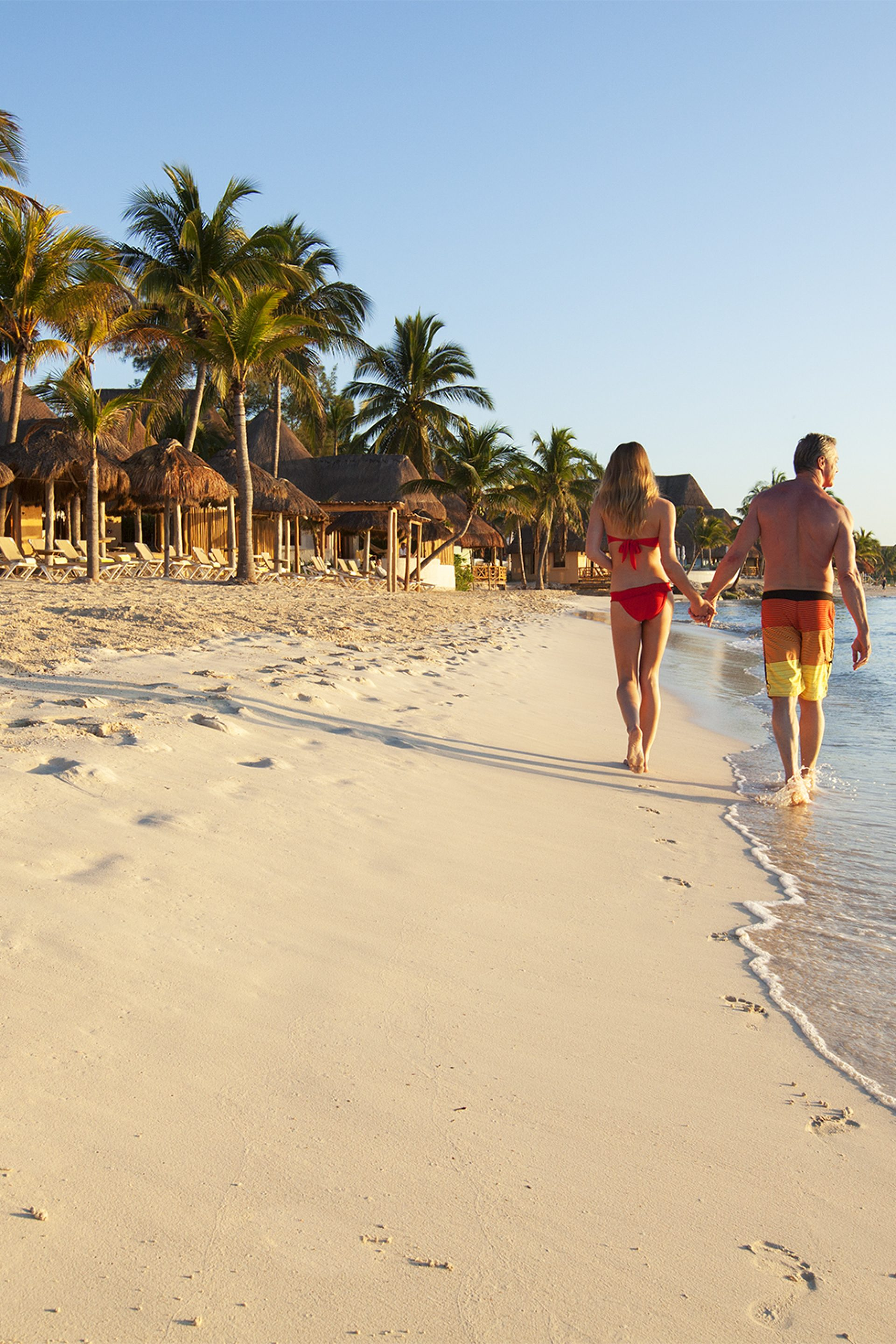 Romantic Walk along the beach at Mahekal Beach Resort