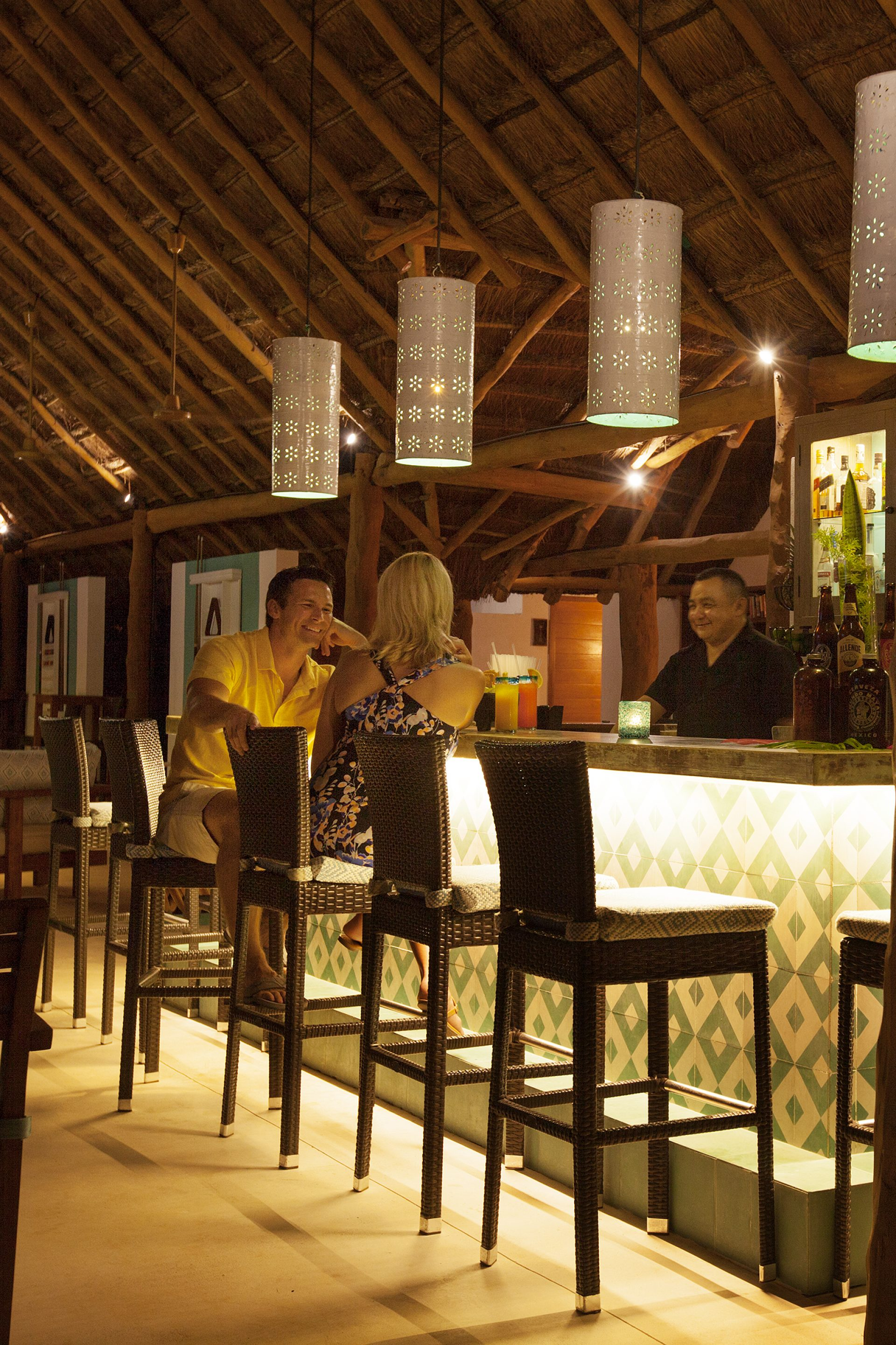 Boli's Bar at Mahekal Beach Resort