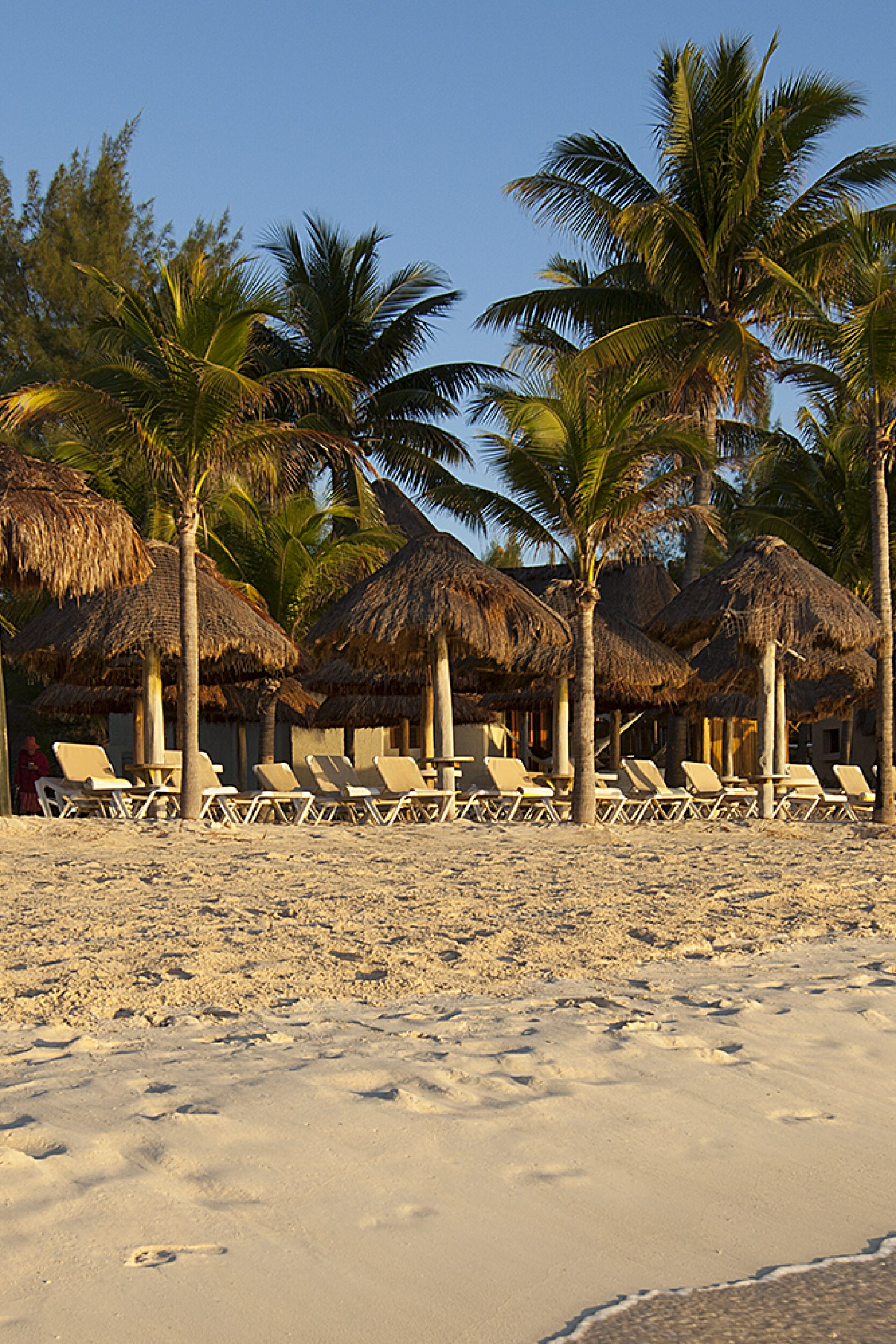 White Sand Beaches beckon from Mahekal Beach Resort