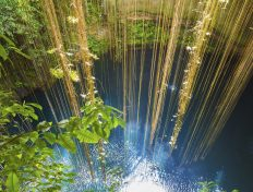 Swim and sunbathe in Mexico's freshwater Cenotes