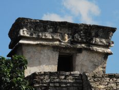 Ancient Mayan Tulum Architecture