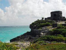 Ancient Mayan Tulum was the major port for Coba