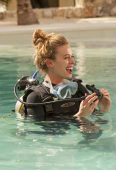 Pool and Open Water Scuba Diving Classes at Mahekal Beach Resort