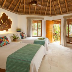 Treehouse Luxurious Accommodations at Mahekal Beach Resort