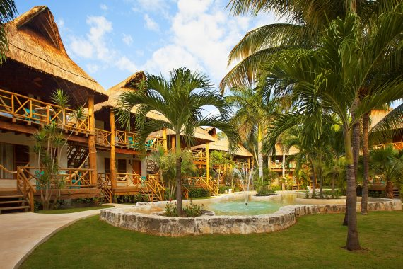 Tropical Garden View Accommodations at Mahekal Beach Resort
