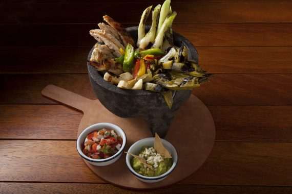 Chicken Molcajete at Lunch