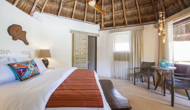 Deluxe Ocean View Palapa Accommodations at Mahekal Beach Resort